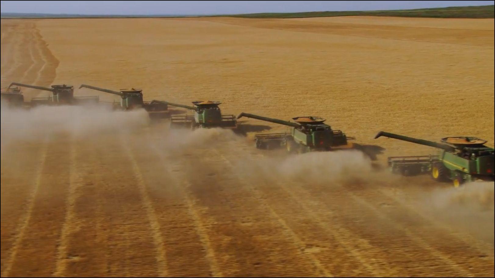 Dans les Etats de l'Ouest, d'énormes étendues ne supportent plus l'agriculture intensive et la terre se désertifie.