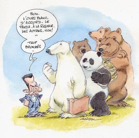 Sarkozy et les ours