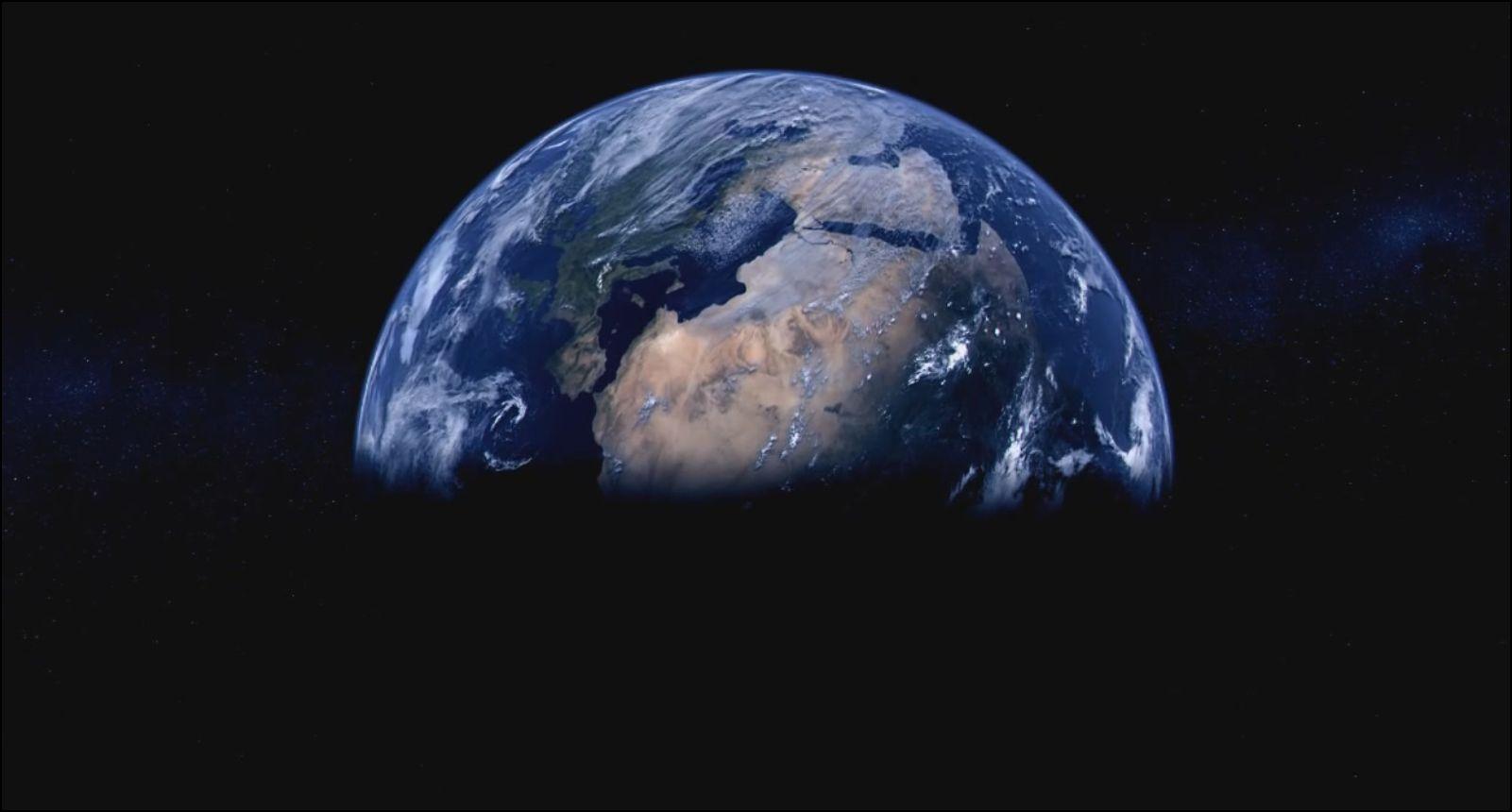 La terre est née il y a 4 milliards d'années