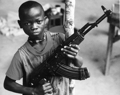 Certains enfants soldats n'ont même pas 7 ans